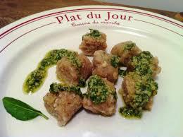 cuisiner le basilic gnocchis de châtaignes au pesto de basilic envie de cuisiner
