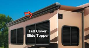 Rv Slide Out Topper Awning Replacement Fabric 86196 Rv Slidetopper Full Cover Slideout Awning Assembly