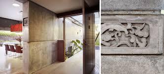 house 6 by cheng design concrete house modern entryway pivot