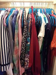 Hanging Pictures How To Organize A Lot Of Clothing In Very Little Closet Space