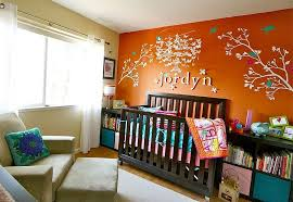 Decor For Baby Room Exquisite Nursery In Peach Blossom And White Is Perfect For Baby