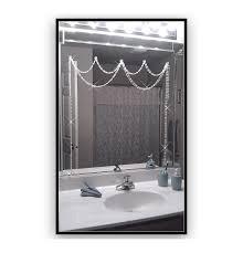 Rhinestone Wall Mirror Shadez Of Michelle Mirror Bling Iridescent Crystal Adjustable