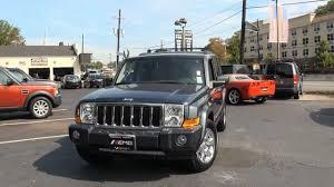 jeep 5 7 hemi 2007 jeep commander 5 7 hemi limited stock 2332