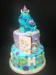 monsters inc birthday cakes monsters inc birthday cake jpg
