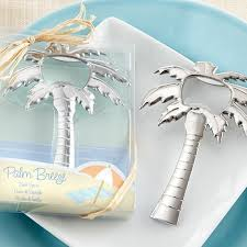 wedding bottle openers palm tree bottle opener