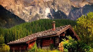 mountains cabin tirol sky lovely mountain vacation cliffs home