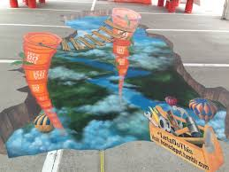 lexus newport to ensenada yacht race 3d street painting latest videos