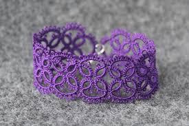 made bracelet images Purple hand made bracelet littleblacklace jpg