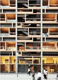 Best Architecture  Facades Images On Pinterest - Apartment facade design