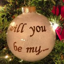 how i asked my bridesmaids christmas ornament