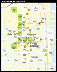 Philadelphia Pennsylvania Map by Map Of Historic Philadelphia And Waterfront