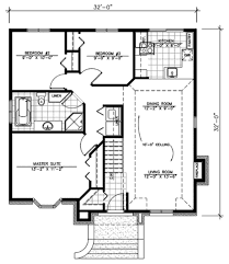 traditional style house plan 3 beds 1 baths 1008 sq ft plan 138