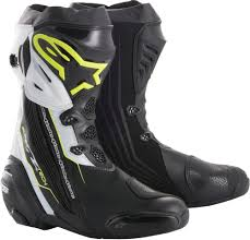 motorcycle riding shoes mens 499 95 alpinestars mens supertech r boots 232206