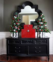 Xmas Home Decorating Ideas by The Yellow Cape Cod Holiday Home Tour 2013