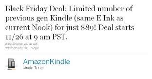 amazon kindle deals black friday amazon selling remaining kindle 2 stock for 89 on black friday