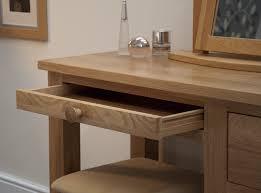 Oak Vanity Table With Drawers Modern Bedroom Dressing Table Interior Design