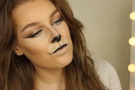 halloween week lion makeup zoe mountford