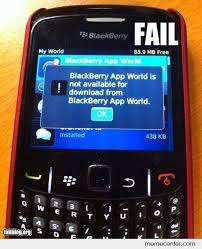 Meme Center Mobile App - blackberry app fail by ben meme center