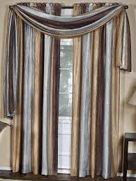 Chocolate Curtains With Valance Ombre Decorative Window Treatments Chocolate Achim