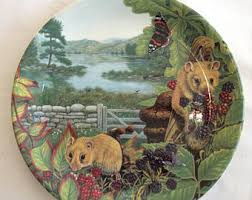 Fox In The Barn Limited Edition Tirschenreuth Wwf Plate