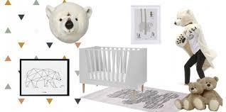 chambre bébé ourson chambre enfant ours décoration ours et banquise pour chambre