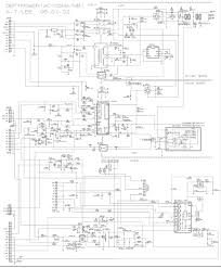 wp32a30 lg inch crt tv circuit diagram schematic diagrams wiring