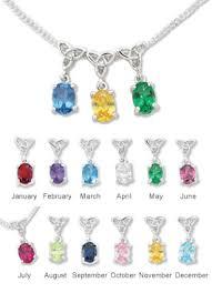 children s birthstone jewelry pendants necklaces s birthstone pendant creative