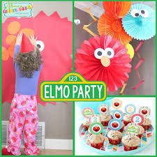 elmo party ideas sesame party s pretty elmo party mimi s dollhouse