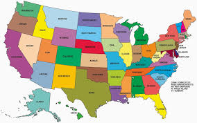 united states map with all the states and cities map of the united states showing all states all world maps