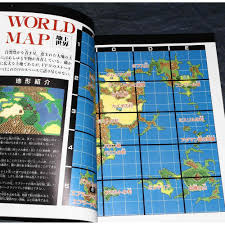 Final Fantasy World Map by Fantasy Iv Official Complete Guide