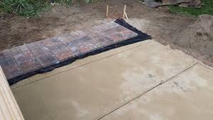 brick for patio 2 easy ways to lay a brick patio wikihow