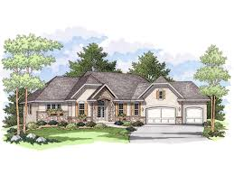 Luxury Ranch Floor Plans Washburne Luxury Ranch Home Plan 091d 0024 House Plans And More