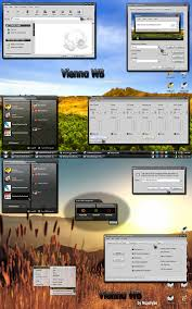 vienna windows blind for xp themes for pc