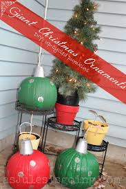 Large Outdoor Christmas Decorations by Image Collection Oversized Outdoor Christmas Ornaments All Can