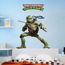 teenage mutant ninja turtles wall decals ebay