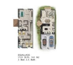 Antilla Floor Plan Calabria Residences Miramar New Houses For Sale Bogatov Realty