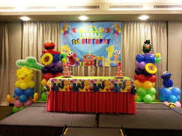 decor sesame street decorations with sesame street birthday party