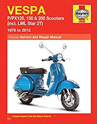vespa scooters 1959 1978 motorcycle manuals amazon co uk