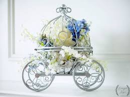 carriage centerpiece cinderella birthday party