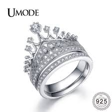 bridal sets for umode luxury cz bridal sets for women 925 sterling silver jewelry