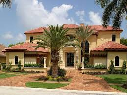 home design mediterranean style home design mediterranean tuscan home exteriors with palm tree