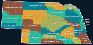 Map Of Counties In Nebraska Groundwater Quality Management Program Cpnrd