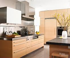 light oak kitchen cabinets modern kitchen cabinet wood choices better homes gardens