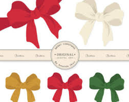 christmas ribbon bows ribbon bow clipart free best ribbon bow clipart on