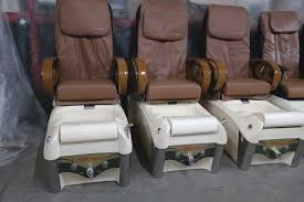 used valentino full function massage pedicure spa chair nail