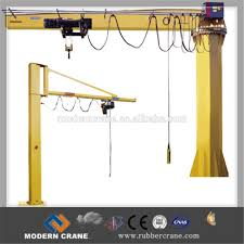 floor mounted 3 ton 5 ton pillar hoist small jib crane price buy