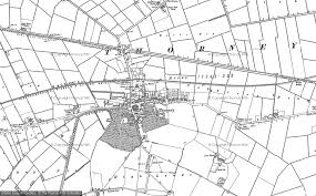printable area old os old maps of thorney francis frith