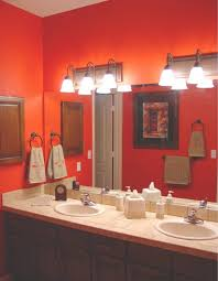 Bathroom Paint Schemes 11 Best Orange Bathrooms Images On Pinterest Bathroom Ideas