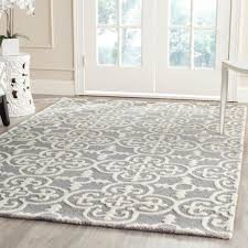 Grey Area Rugs Decor Dark Wood Floor And Brick Wall Also Grey Area Rug For