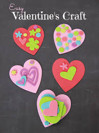 easy valentines craft for kids family food and travel